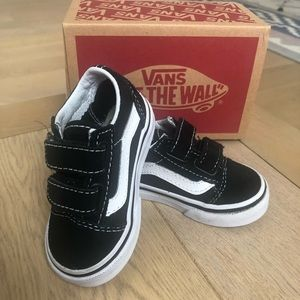 Like new toddler Vans sneakers.